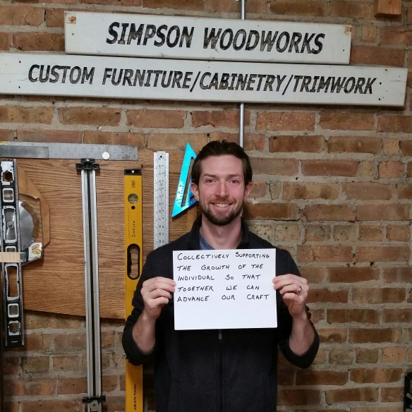 Brennan Simpson of Simpson Woodworks