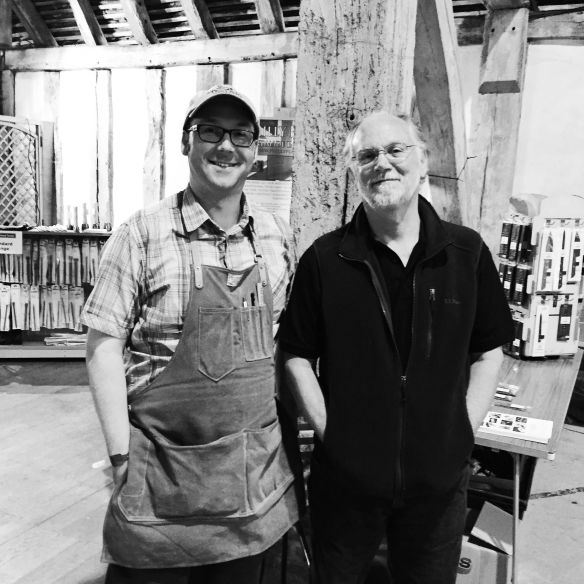 Ron Hock - the man who made me really understand sharpening. Truly knowledgeable, and thoroughly lovely chap.
