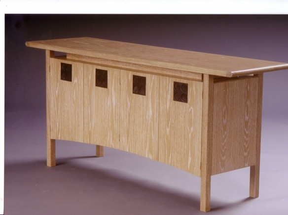 Oak sideboard by Jamie