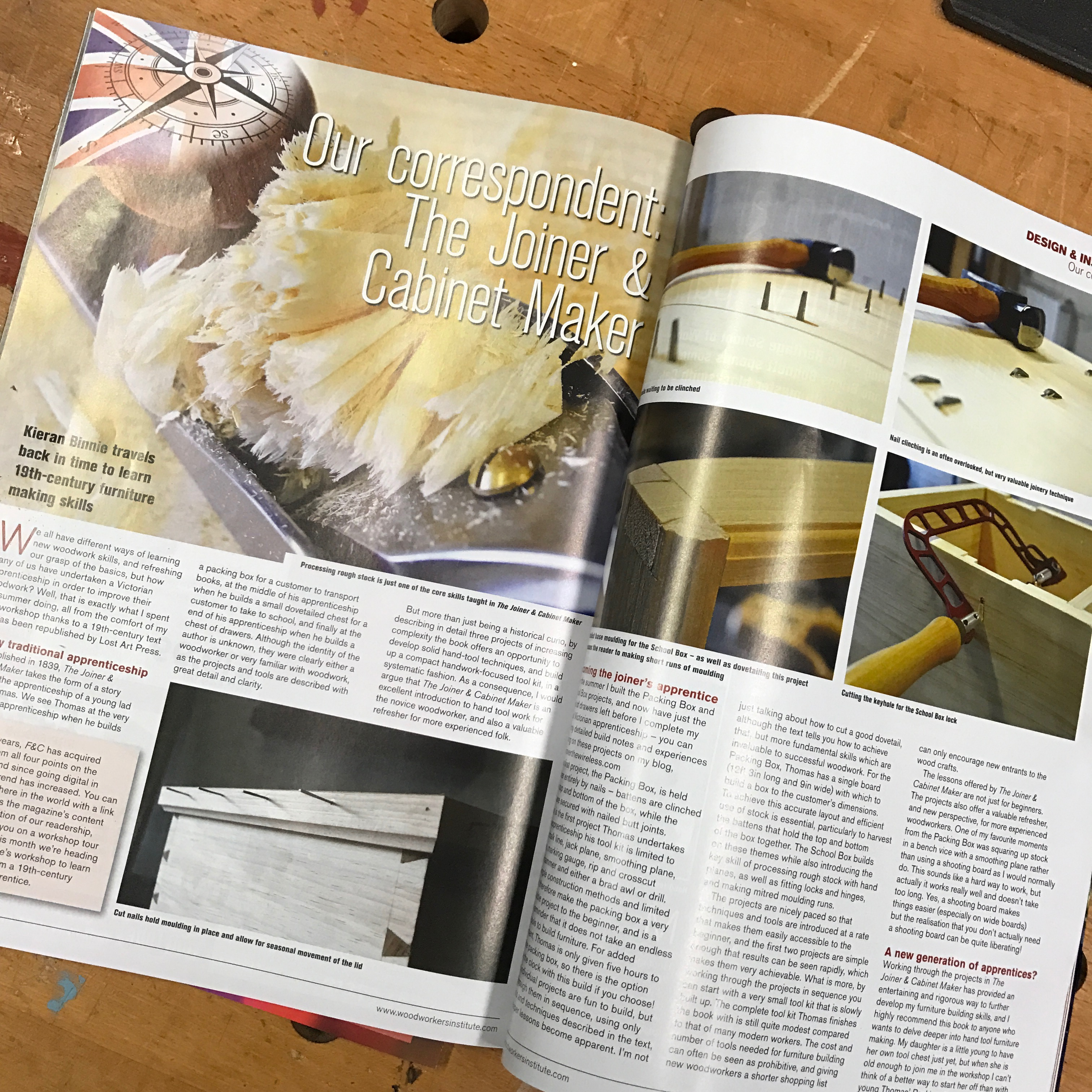 The Joiner & Cabinet Maker, in print | Over the Wireless